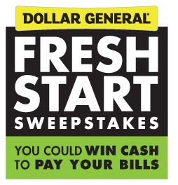 Dollar General Fresh Start Sweepstakes