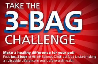 Hill's Science 3-Bag Challenge