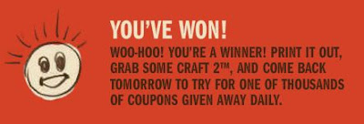 Craft Your Life Qdoba Mexican Grill Restaurant Coupon Giveaway