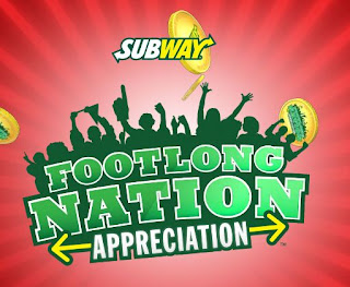 Subway Footlong Nation Promotion