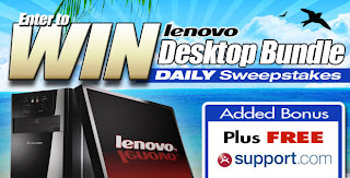 Lenovo PC a day for 60 Days Giveaway from Tiger Direct