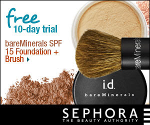 New from BARE ESCENTUALS bareMinerals Matte Foundation Try it FREE