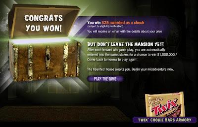 Mars Halloween Millions Winner