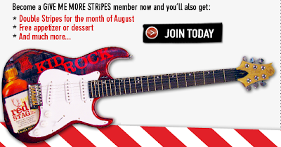 T.G.I. Friday's Give Me More Stripes Rockin' Sweepstakes