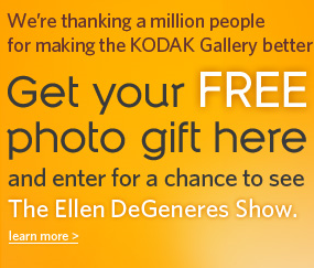 Kodak Million Thanks Giveaway