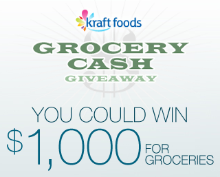 Kraft Grocery Cash Giveaway