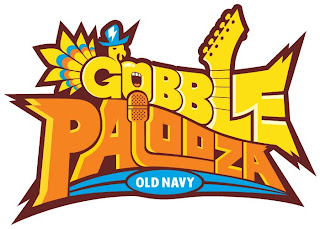 3 Days of Old Navy Rockin' Deals Starting on T-Day at Gobblepalooza