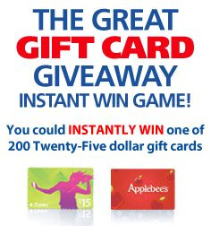 Save-A-Lot Great Gift Card Giveaway Instant Win Game