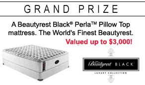 Simmons Bedding Question of the Day Sweepstakes