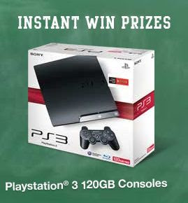 Blockbuster Big Gamer On Campus Instant Win Sweepstakes