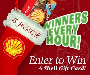 2009 Ryan Seacrest Shell Gas Card HOURLY Giveaway