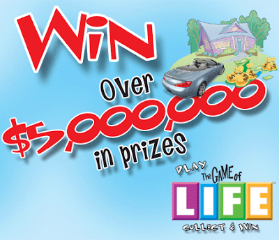 RITE AID The Game of Life Collect and Win Game