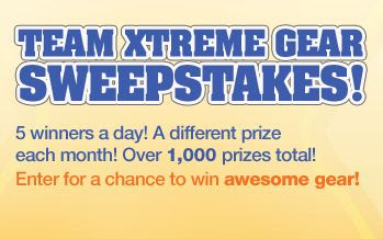 Pepperidge Farm Goldfish Team Xtreme Gear Sweepstakes