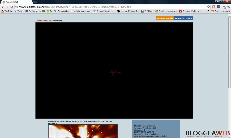 Bloggea Web: Como descargar una plantillas de flash GRATIS