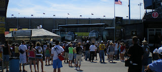 NASCAR race at Michigan International Speedway