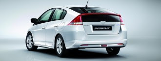 New Honda Insight rear