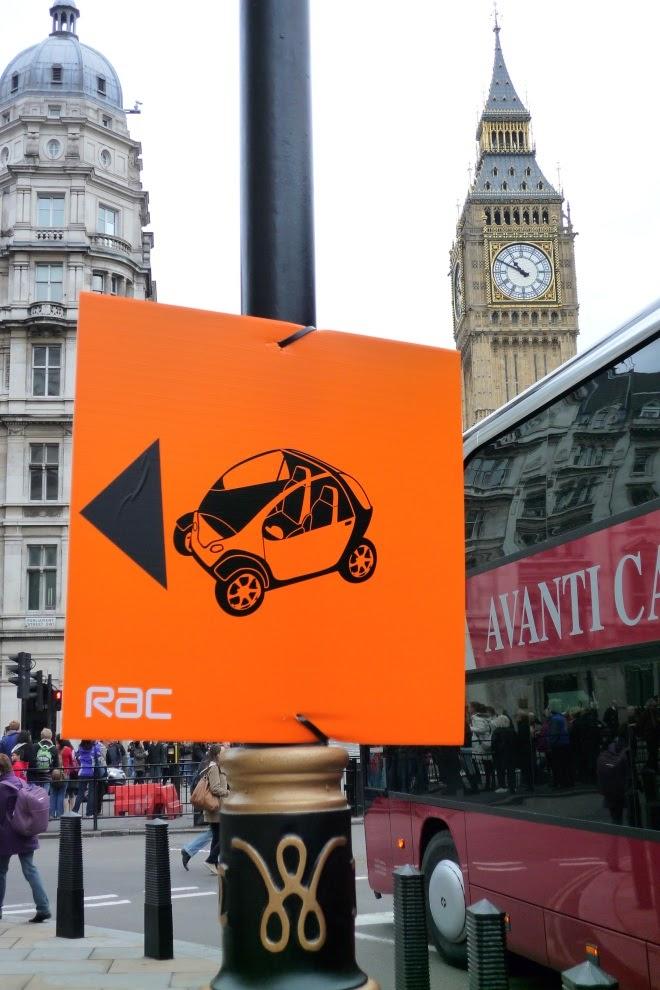 Future Car Challenge sign