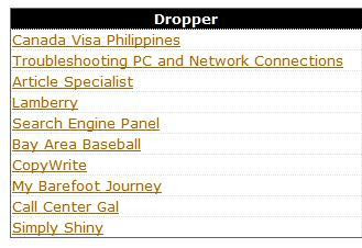 Netblot's Top 10 EC Droppers