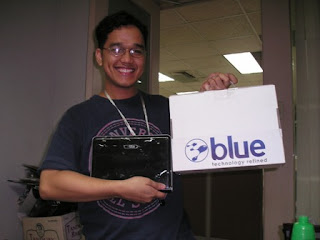 My very own Blue H1 Mobile PC