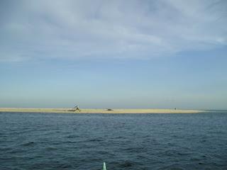 white island in Camiguin Philippines