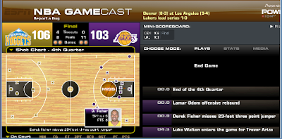 2009 NBA Playoffs | Nuggets beat Lakers, West Conference Finals 1-1