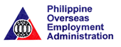 POEA Logo for Overseas Employment Certificate or Exit Permit processing in SM Malls for Filipino OFWs