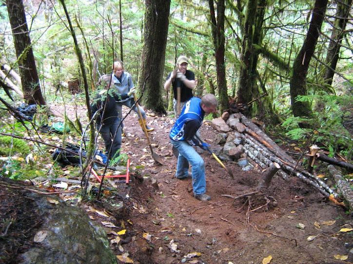 Forbidden Freeriders / UROC Trail Crew