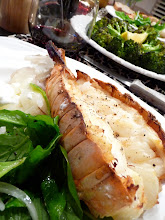 Valentine's Broiled Lobster Tail