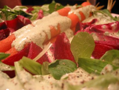 Roasted Carrot & Beet Salad