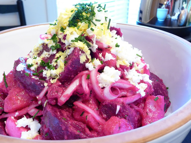 Roasted Beet & Potato Salad