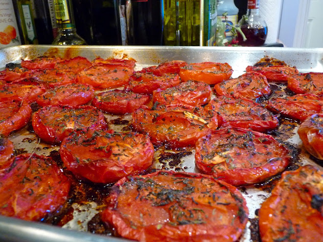 Oven Roasted Plum Tomatoes