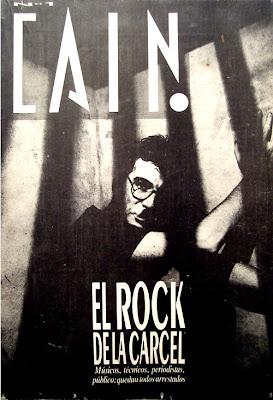 Portada del suplemento Caín N° 1, revista Humor®, 1987