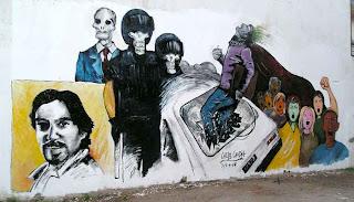 El mural de Fuentealba en S.M de los Andes