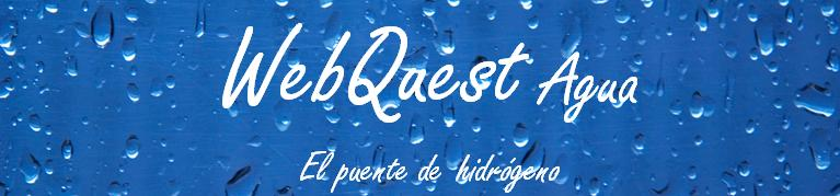 WebQuest Agua