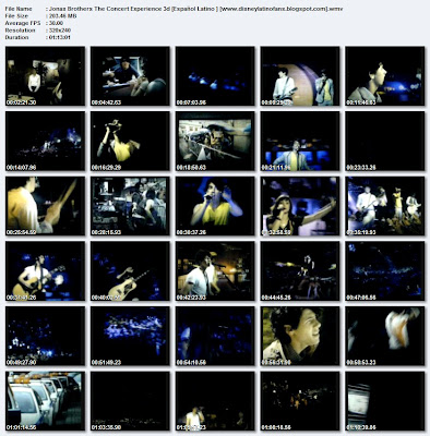 Jonas Brothers The 3D Concert Experience DVDRip Spanish-Latino A