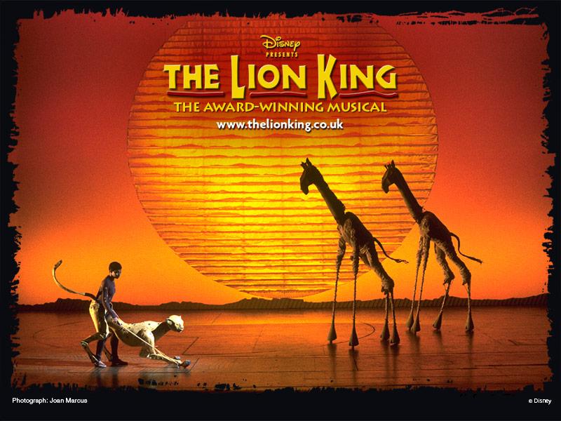london theatre  california  lion king