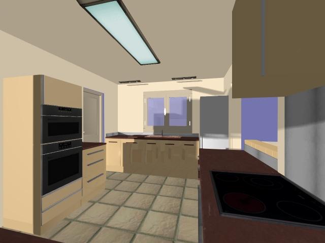 Hom3 le conseil deco creation d 39 une cuisine for Modelisation cuisine