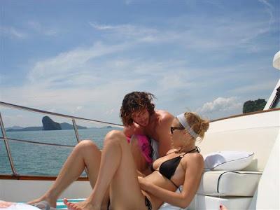 Bar Refaeli bikini & Noam Tor: Boat Buddies pictures. Bar Refaeli bikini