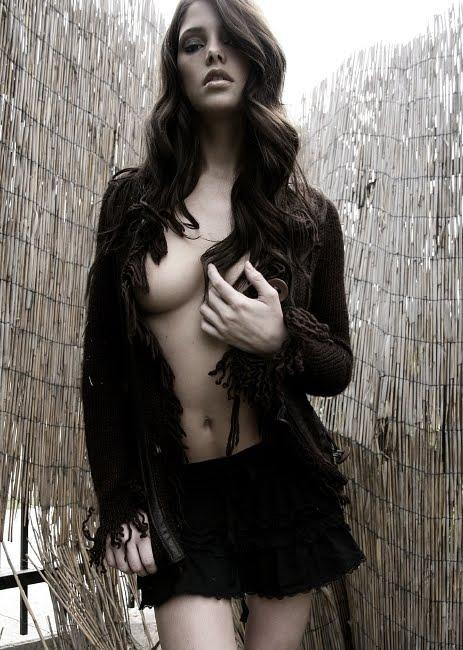 Ashley Greene topless
