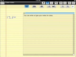 Pad Notes pour iPad