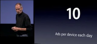 Apple iAd : frquence publicit iPhone