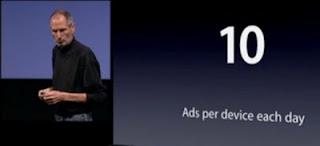 Apple iAd : fréquence publicité iPhone