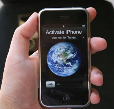 Activation d'iPhone