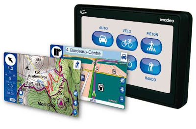 Mobiles GPS IGN EVADEO