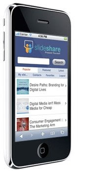 SlideShare.net sur iPhone