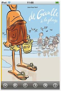 Télécharger la BD numérique 'de Gaulle à la plage'