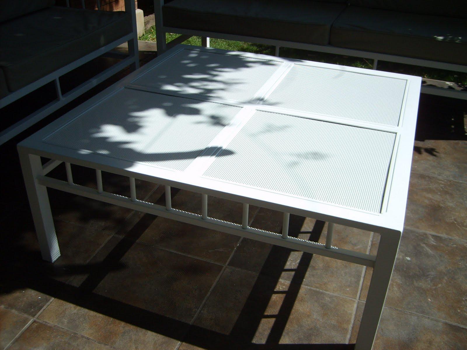 Muebles andrea schoennenbeck juego terraza de fierro for Muebles terraza baratos chile