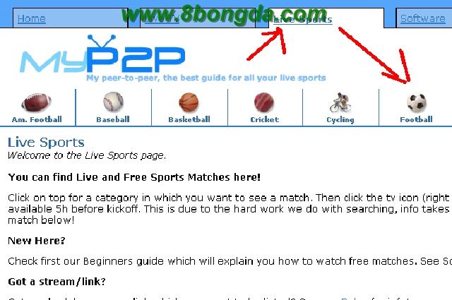 Hướng dẫn xem bóng đá trực tuyến bằng phần mềm Sopcast [Download Sopcast] Sop+2