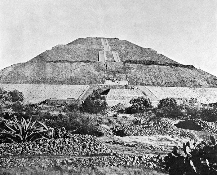 Imagenes antiguas de teotihuacan mexico