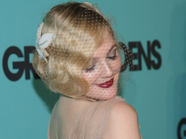 flapper hair. Although Drew does it so well.
